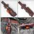 MK II TBS Leather Multi Carry Knife Sheath with DC4 & Firessteel Attachment - Regular